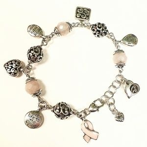 Brighton Power of Pink 2007 Charm Bracelet